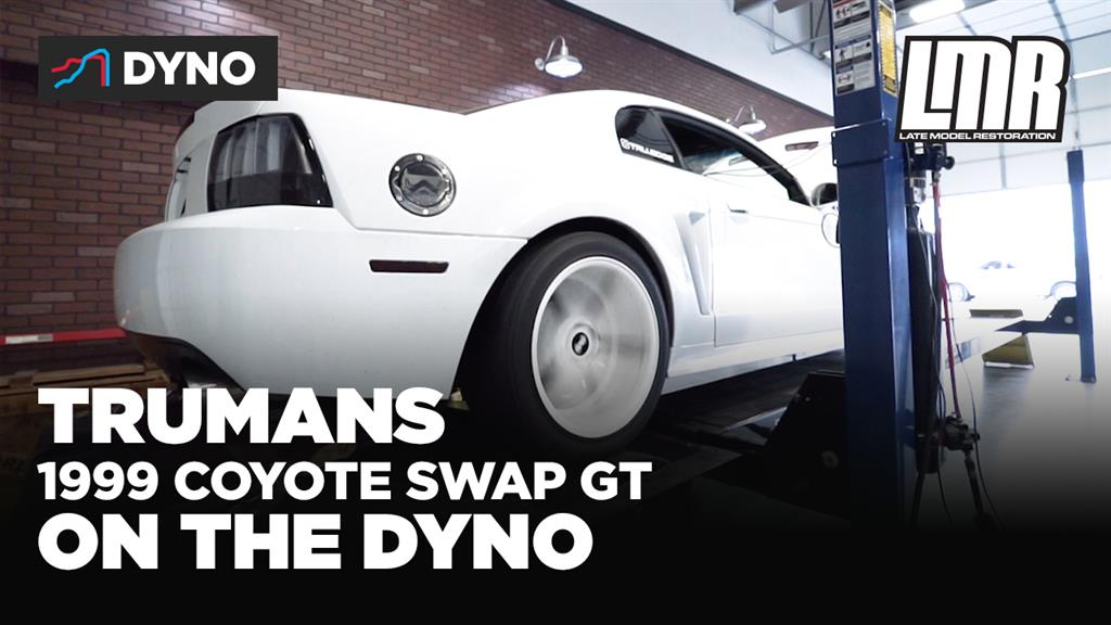 Coyote Swap New Edge Hits The Dyno!